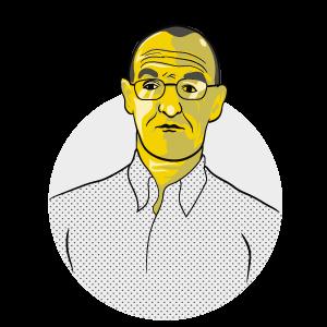 Illustrated version of Nigel Appleton